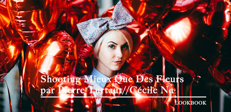 Shooting Mieux que des Fleurs - ©Pierre Turtaut // modèle Cécile Na
