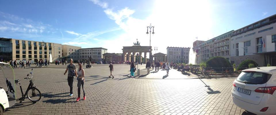 My first time in Berlin
