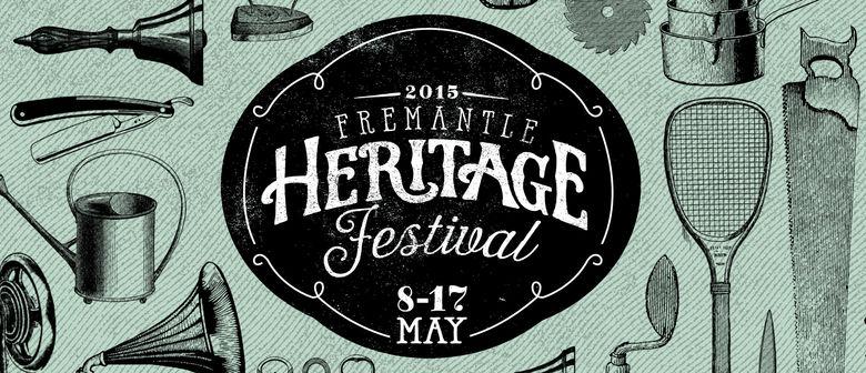 Image officielle du Festival Fremantle Heritage (illustre aussi Fremantle historique)