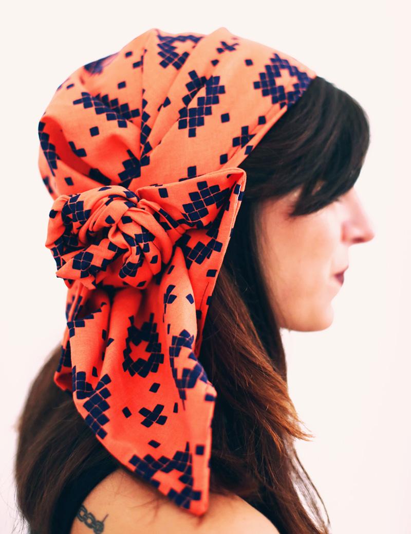Headwrap Irma en mode Bohème