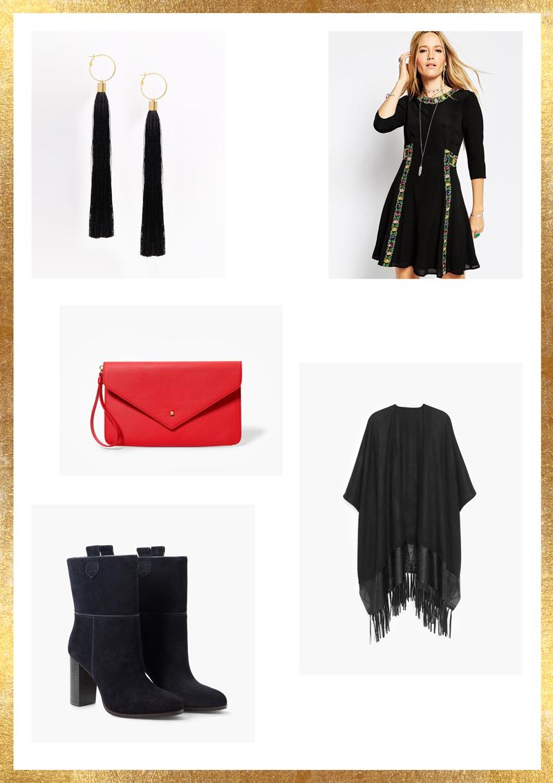 Ma sélection pour une tenue plus habillée.