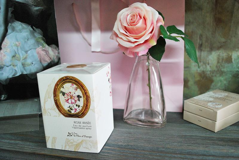 l'Eau de Parfum Rose irisée